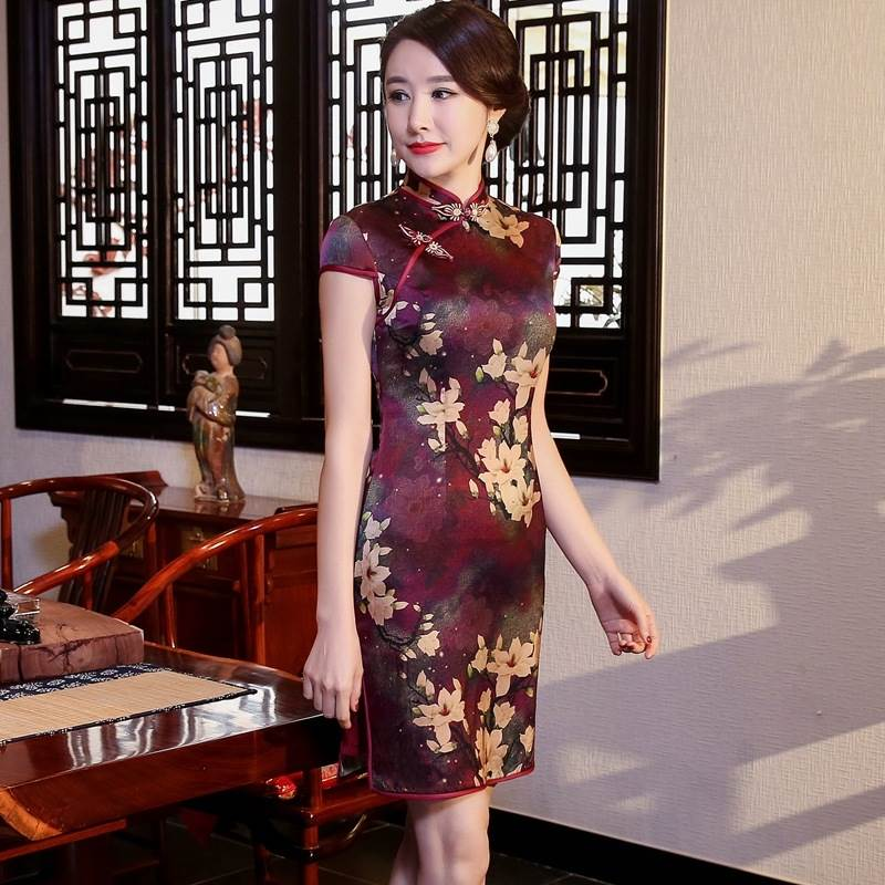traditional asian dress
