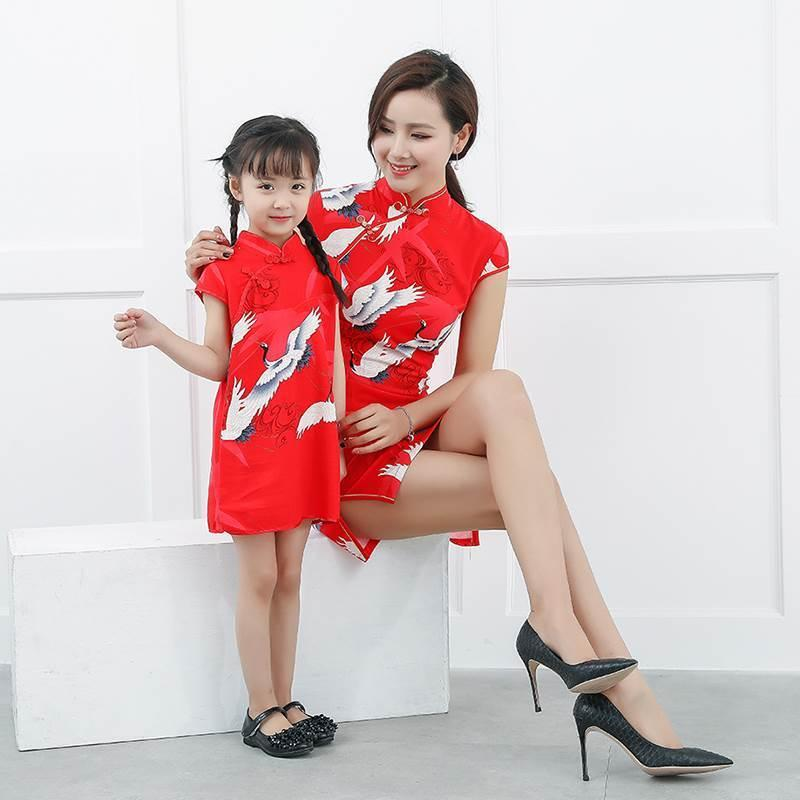 red dress for mom and daughter