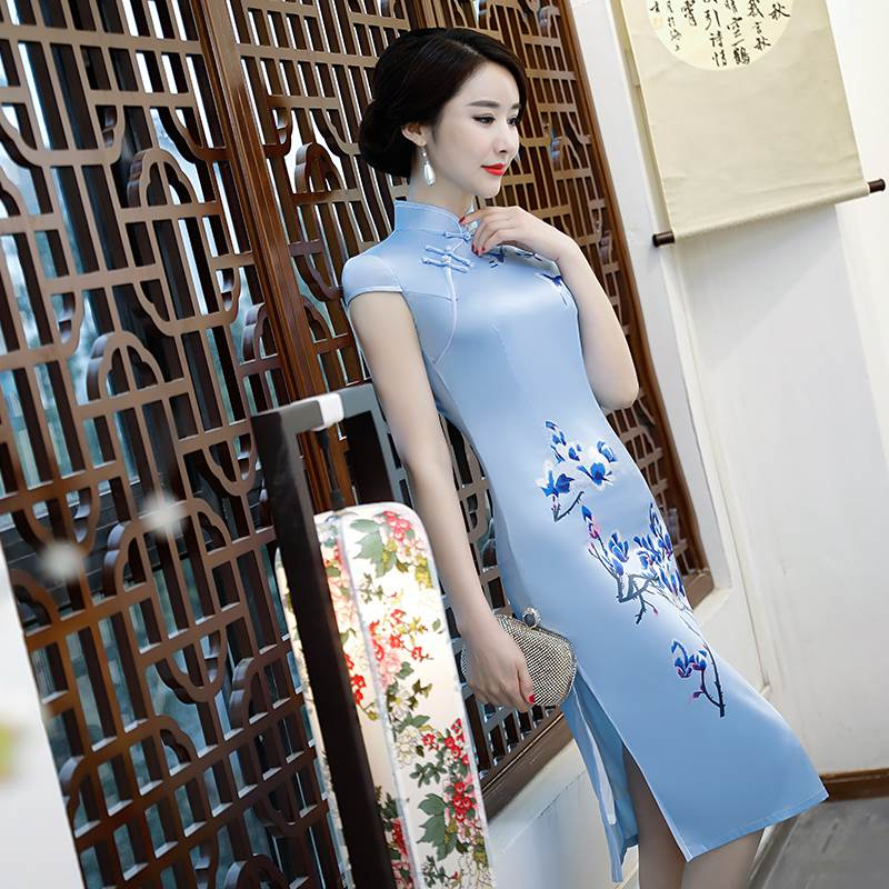 short slim cheongsam