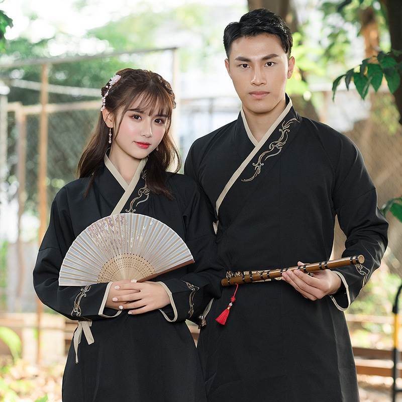 chinese couple suit