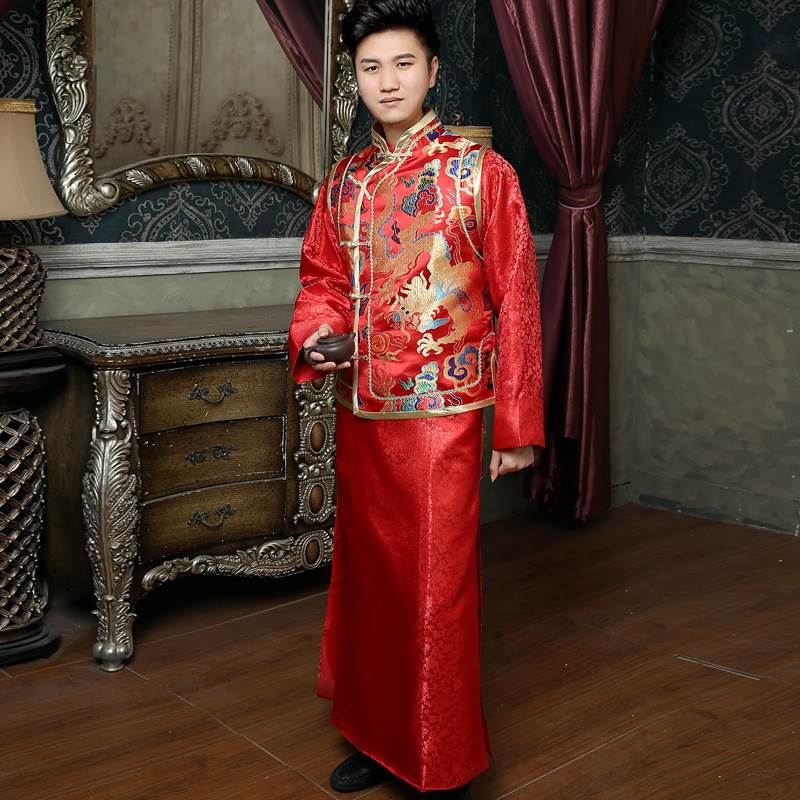 wedding long gown for men
