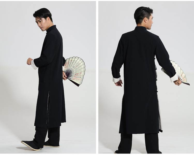kung fu suits long gowns