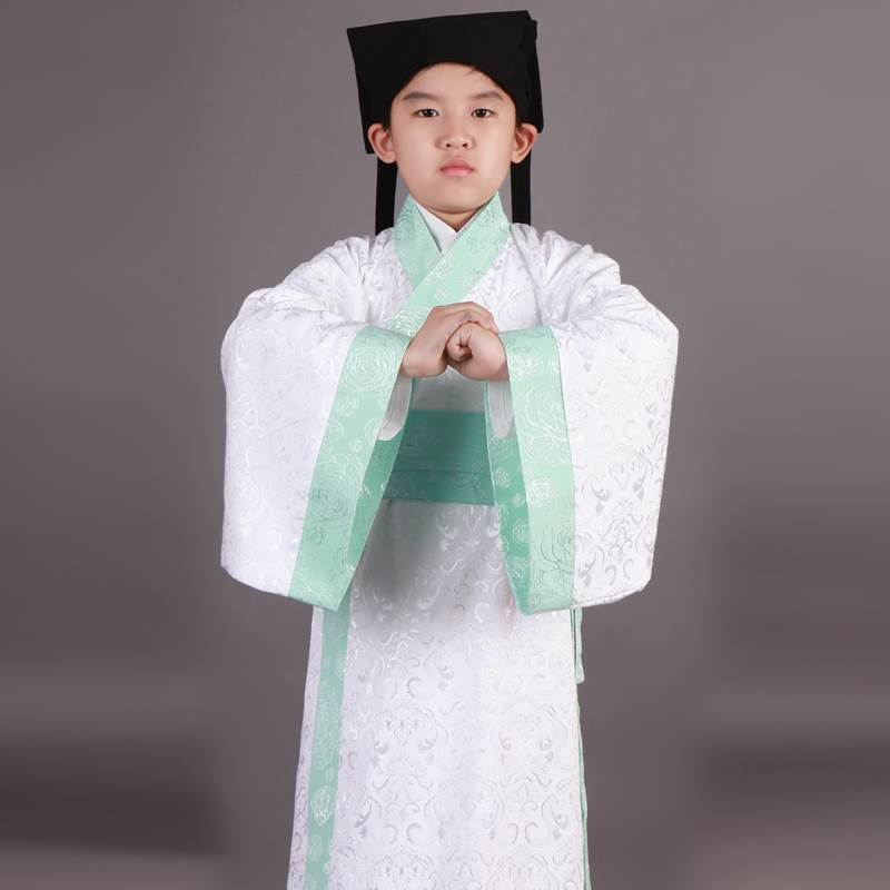 ancient Chinese student clothes