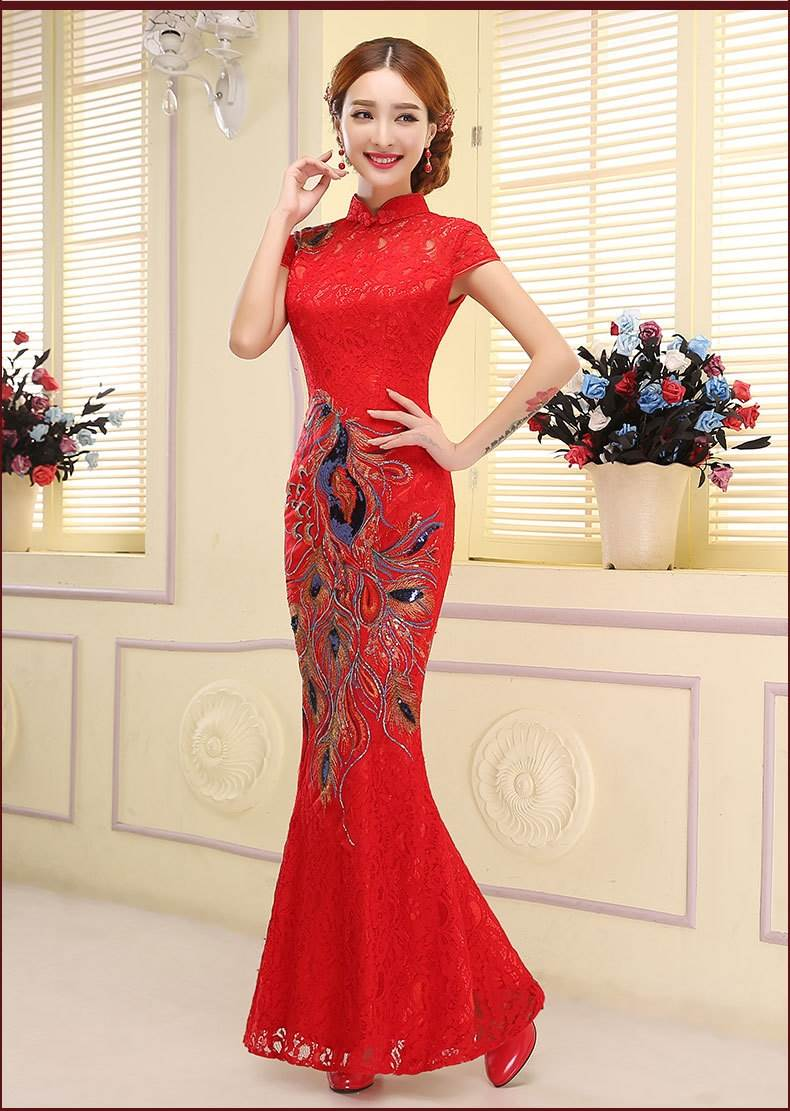 chinese wedding cheongsam