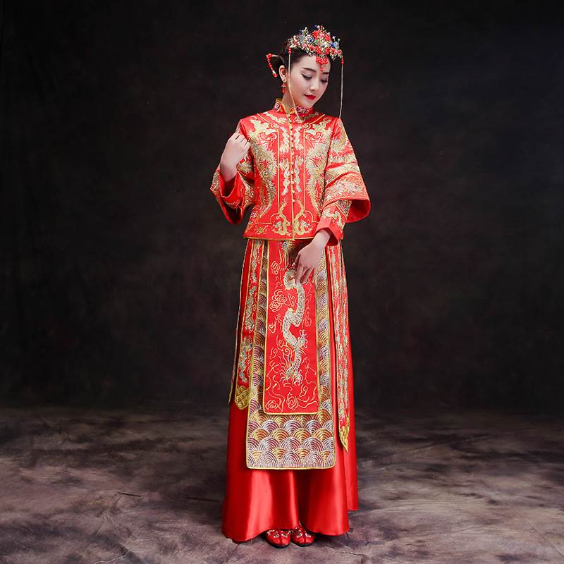chinese wedding suit
