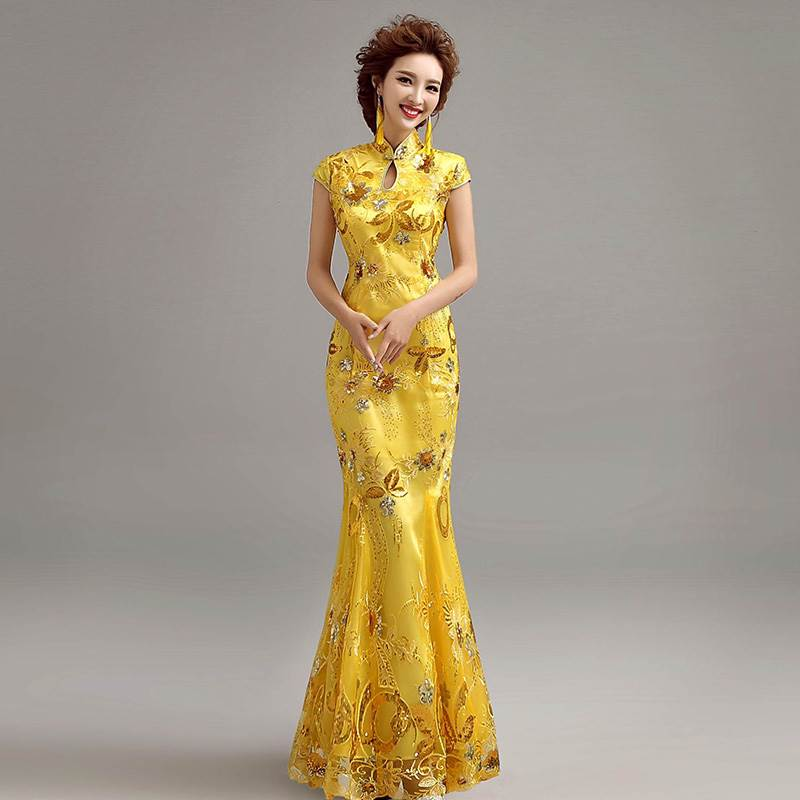 chinese bridal gown