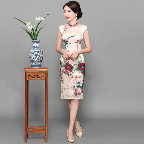 chinese mandarin dress