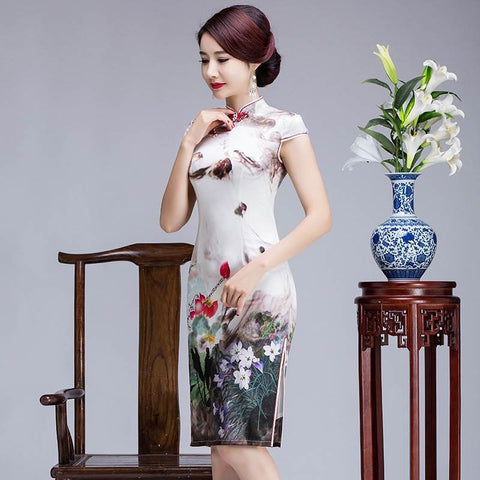 formal chinese dresses