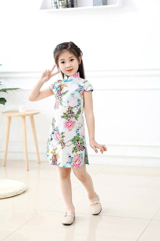kid little qipao