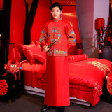 men's wedding tang suit