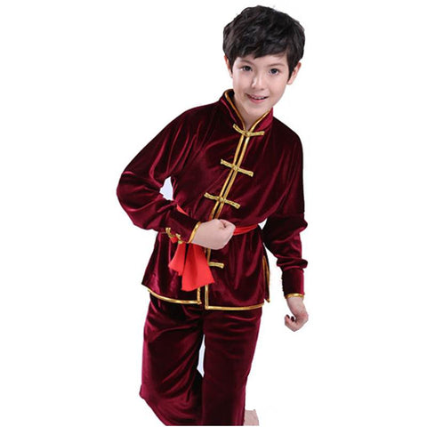 Children Chinese Kung Fu Suit Tai Chi Clothing Martial Art Uniform CKF003