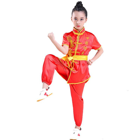 silk kung fu uniform