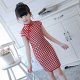 red little qipao