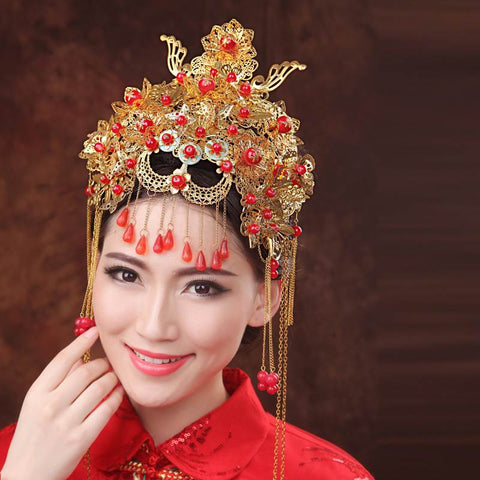 Bridal Headgear Set