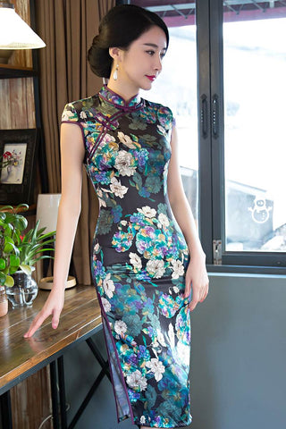 stereoscopic painting qipao