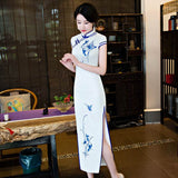 double sided opening qipao