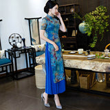 long fashionable cheongsam
