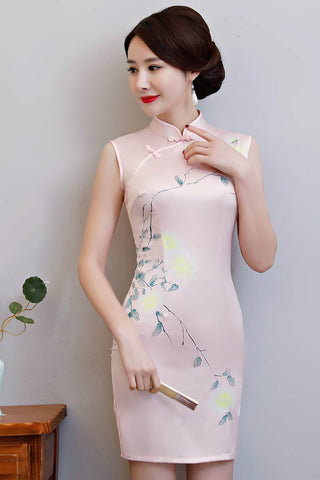 short fashionable cheongsam