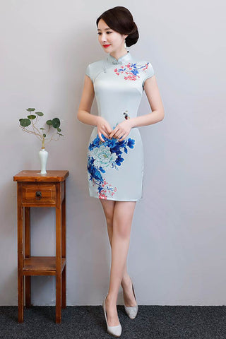 fashionable cheongsam