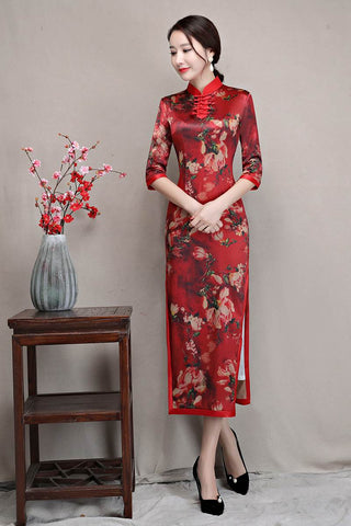 elegant qipao dress
