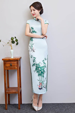 chinese bamboo pattern