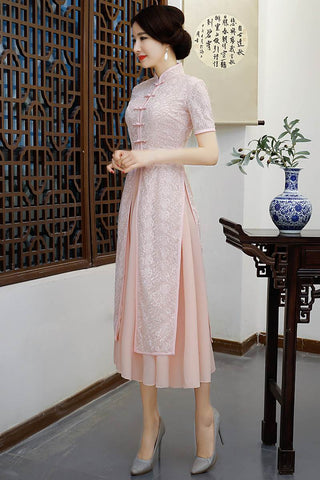 long cheongsam dresses
