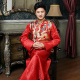 male chinese traditional wedding costume