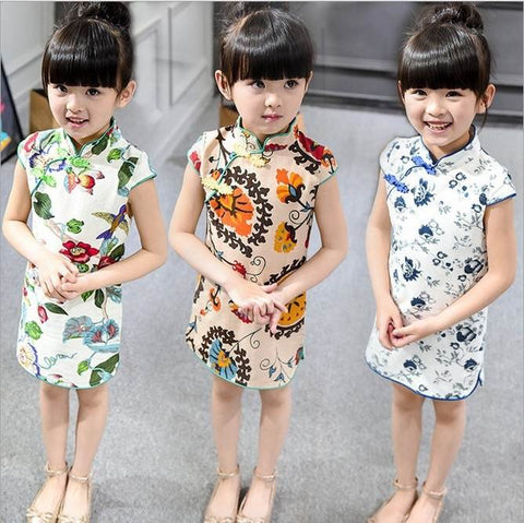 traditional chinese girl clothing