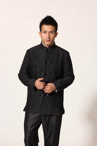 black long sleeve tang suit