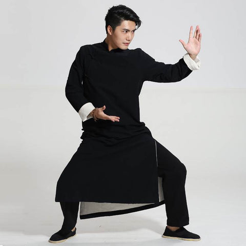 chinese kung fu suits long gowns