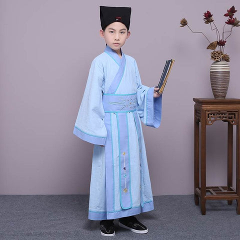 light blue china clothing
