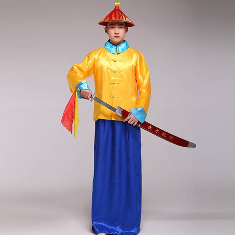 qing dynasty official clothes tops