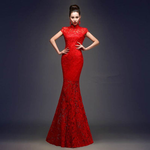 chinese qipao wedding dress