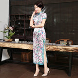 full-length to the ankle chinese dress qipao