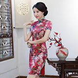 traditional chinese silk dress