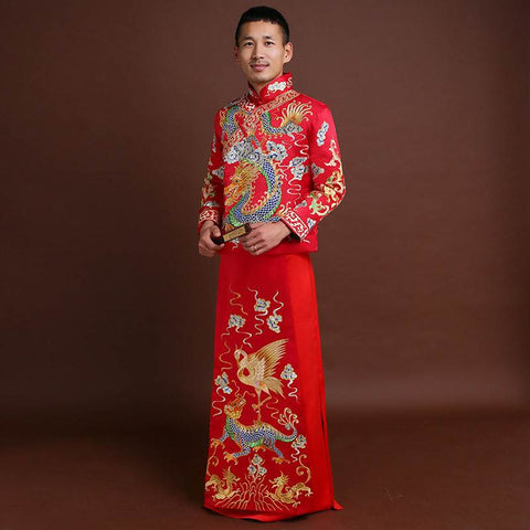 chinese clothing men wedding clothing