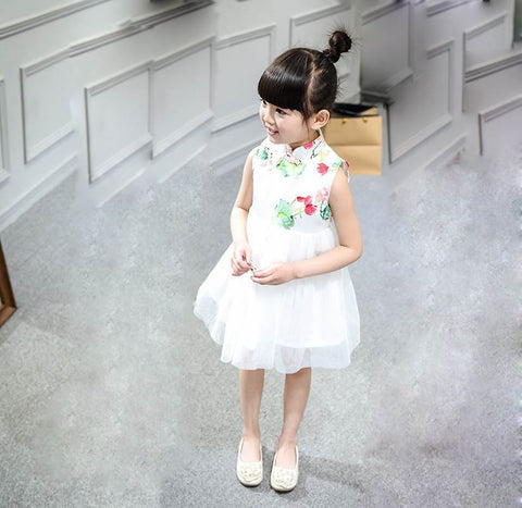 chinese flower girl dresses