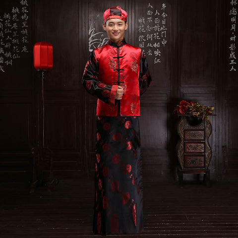 chinese wedding groom attire