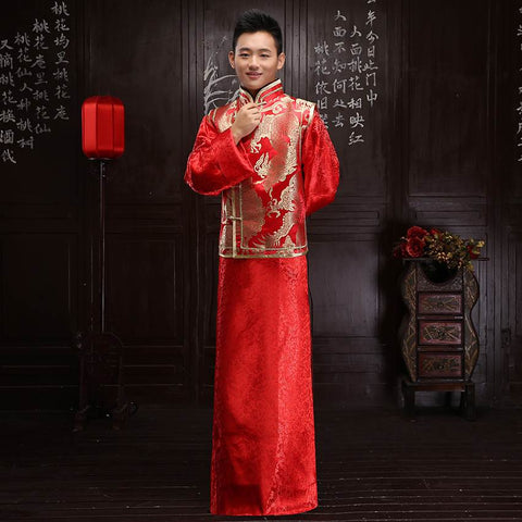chinese robe male