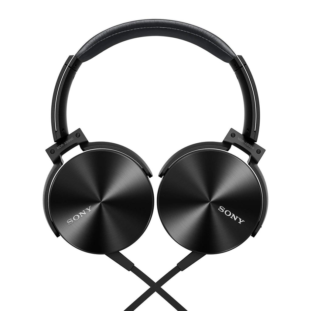 01c88d53d3a Sony MDR-XB950AP On-Ear Extra Bass(XB) Headphones with Mic (Black)