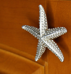 Enhance Your Beach Style Décor with Starfish Drawer Pulls and Knobs | Sea Life Cabinet Knobs