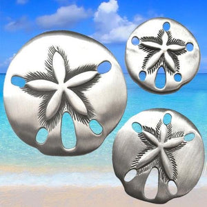 Sand Dollar Seashell knobs and pulls