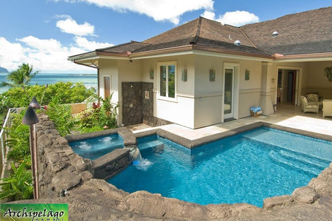 Hawaiian Coastal pool home