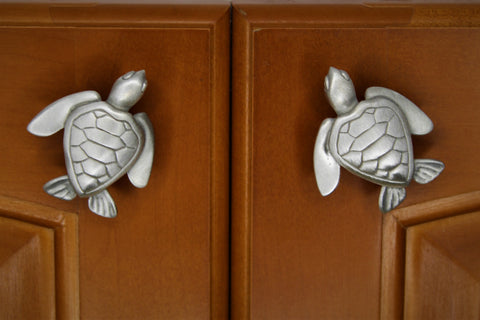 Turtle cabinet knobs