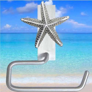 Starfish Toilet Paper Hanger, 227 - Sea Life Cabinet Knobs