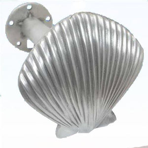 Scallop Shell Drapery Tie Backs, 174 - Sea Life Cabinet Knobs