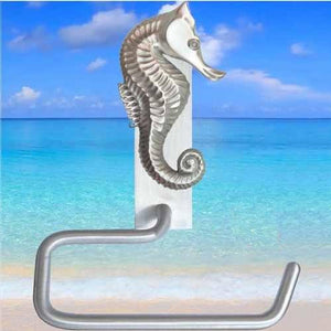 Seahorse Toilet Paper Hanger, 216 - Sea Life Cabinet Knobs