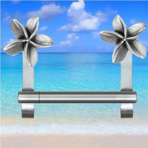 Plumeria Towel Bar, 233 - Sea Life Cabinet Knobs