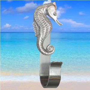 Seahorse Robe Hook, 204 - Sea Life Cabinet Knobs
