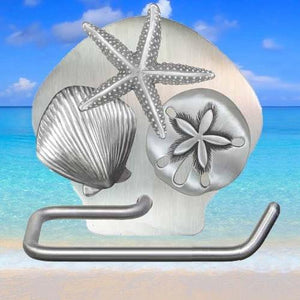 Seashell Hand Towel Hanger, 319 - Sea Life Cabinet Knobs